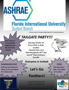 HOMECOMING TAILGATE PARTY!!!